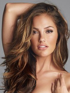 Minka Kelly hair colour