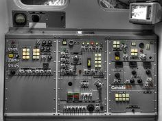 Space Shuttle Canadarm Robotic Arm Control Panel by John Straton