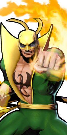 35938 - Ultimate Marvel vs. Capcom 3: Iron Fist 1 Marvel Comics, Marvel Comic Books, Marvel Vs, Marvel Characters, Iron Fist Powers, Ultimate Marvel, Bravest Warriors, Luke Cage, Image Comics