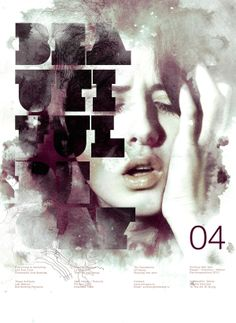 Experimental poster series: Beautiful Decay - 2011 // Graphic Design, Illustration, Digita Art - by Anthony Neil Dart