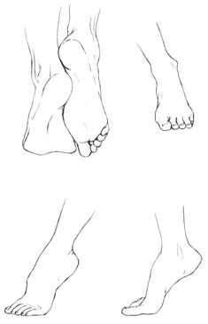 More studies, but feet this time. I actually found it harder to draw feet than hands. - - - - - - - - - - References: Top pair of feet: [link] Foot, top. Study of Feet I drawing reference Study of Feet I by delespi on DeviantArt Anatomy Sketches, Anatomy Drawing, Drawing Sketches, Art Drawings, Anatomy Art, Drawing Art, Drawing Studies, Drawing Legs, Feet Drawing