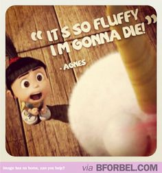 My favourite scene. Can't wait for Despicable Me 2! #agnes