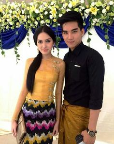 Myanmar Organza fashion, Acheik