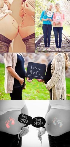 Creative Ways to Document Your Baby Bump! Latest Trends for Maternity Photos - BFFs