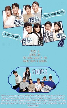 Plus Nine Boys - this drama is so cute and funny