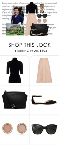 """""""(READ) Getting back to Eaton Hall after doing some errands and finding Andrew to give him a tour"""" by ladylouisegrosvenor ❤ liked on Polyvore featuring Theory, Valentino, MICHAEL Michael Kors, Chloé, Michael Kors and Chanel"""