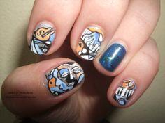 harlem nail art