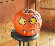 This Halloween, your front porch will be sporting a new take on the traditional jack-o'-lantern. Check out these new ways to paint, sculpt, and embellish your pumpkins.