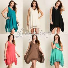 Southern plus size dress