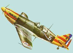 WWII Dewoitine D.520 Fighter Ver.2 Free Aircraft Paper Model Download