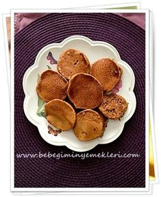 Baby Food Recipes, Pancakes, Muffin, Food And Drink, Tart, Breakfast, Recipes For Baby Food, Morning Coffee, Cake