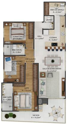 Best House Plans, Dream House Plans, Modern House Plans, Small House Plans, House Floor Plans, House Floor Design, Home Design Floor Plans, Studio Apartment Floor Plans, Apartment Plans