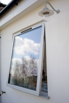 Our Slim Line, Modern Aluminium Window In A White Knight Finish