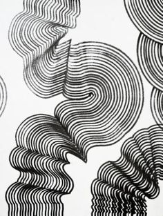 Original Abstract Drawing by Sumit Mehndiratta Easy Abstract Drawing, Wave Drawing, Abstract Art, Abstract Expressionism, Ink Drawings, Easy Drawings, Linear Art, Snake Art, Les Oeuvres