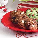 Easy Christmas Cookies: White Chocolate Cherry Cookies