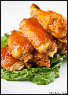 Clean Eating Buffalo Wings