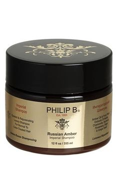 PHILIP B. Russian Amber Imperial Shampoo Baking Ingredients, Cookie Dough, Amber, Shampoo, Packaging, Personal Care, Cosmetics, Makeup