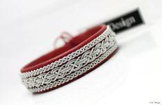 Sami bracelet MODIN by AC Design Sweden #acdesign #bracelet #leather #jewellery #lapland #shoponline #madeinsweden