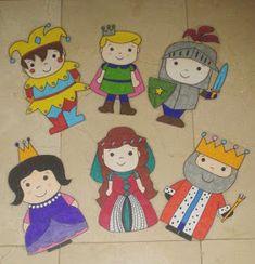 "Aprendiendo a ser PT: Proyecto ""El castillo en la Edad Media y sus habitantes"" (REVIEW) Château Fort, Princess And The Pea, Maila, Medieval Castle, Classroom Themes, Art Plastique, Renaissance, Art For Kids, Fairy Tales"