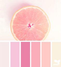 Fresh Hues ~ design seeds Visual Merchandiser, styling and still life designs Colour Pallette, Colour Schemes, Color Combos, Pink Palette, Pastel Colour Palette, Pastel Colors, Best Color Combinations, Palette Art, Monochromatic Color Scheme