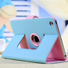 Candy Contrast Colour Concise Lovely Case For Ipad Mini.