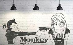 Monkey Method Created by NAOKI STUDIOS Graphic design studio in Gold Coast