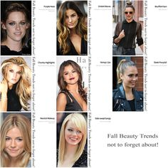 [Sharea Beauty Tips] Fall Beauty Trends not to forget about!