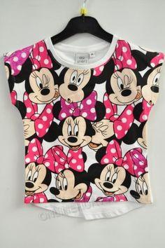 Bluzka dziewczęca OE1159  _A12  (3-8)