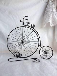 vysoký retro bicykel...velociped