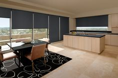 Roller Blind - Luxaflex Roller Blinds with patented EDGE technology – offering unrivalled strength combined with a sleek design, for modern windows.