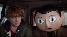 Frank (2014): Hiring a beautiful, brilliant performer like Fassbender and then hiding his face for an entire film seems bonkers. And that, of course, turns out to be the genius of it. The actor rises to this odd challenge with the enthusiasm of a master craftsman, using his body and voice in ways we'd never expect. ~ Elizabeth Weitzman (http://www.nydailynews.com/entertainment/movies/frank-movie-review-article-1.1902257)