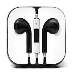 Earphones Earbud Headset Headphone with Mic for Apple iPhone iPod Jack Iphone 5c, Apple Iphone, Cute Headphones, Iphone Headphones, Apple Mobile Phones, Mobile Phone Cases, Ipod, Apple Types, Headphone With Mic