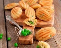 Madeleines aux petits pois : http://www.cuisineaz.com/recettes/madeleines-aux-petits-pois-65260.aspx