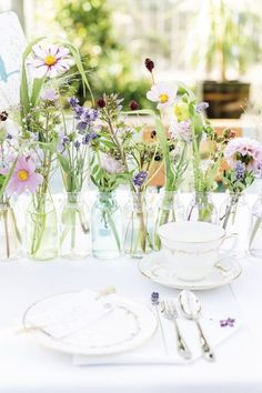 Floral Vintage Hochzeit - Heiraten mit braut.de