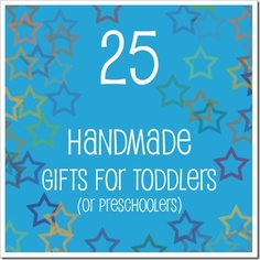 great toddler gift ideas (DIY of course)