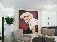 """""""15 Minutes"""" acrylic on canvas 6'×5' 2012  Art work by Cacheila Soto González  www.cacheila.net   #Tributes #ArtDoesTributes"""