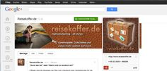 Reisekoffer.de Google + Profile Banner ►► Reisekoffer.de ist ein Unternehmenszweig der sorgers GmbH aus Mülheim-Kärlich und verkauft Hauptsächlich Reisekoffer  , aber auch Rucksäcke und Schultaschen. ►► Google+ Profile Banner, Hintergrund Social Media, G+ Banner, Logo Design