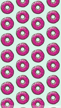Donut Wallpaper