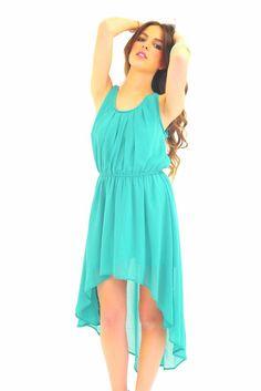 Emerald Isle Chiffon Dress