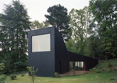 French holiday home featuring bedrooms on wheels.