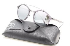 RAY-BAN RB 4266 6200/88 Gray Gradient Gray Mirrored Sunglasses NWT AUTH #RayBan