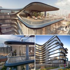 Zaha Hadid Building New York  #Hadid #Zaha Pinned by www.modlar.com