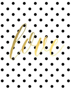 Sometimes, simple is best. Combining black polka dots, gold foil, and a lovely font, I'm so happy to share this free printable with you all. Great for Valentine's Day, but, honestly, just as perfect all year round. click here to download Want more freebies? Check out all my free printables here! Tweet