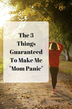 "OohBother | The 3 Things Guaranteed To Make Me ""Mom Panic"""