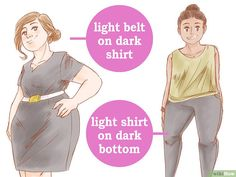 Image titled Dress Well when You're Overweight Step Curvy Fashion, Plus Size Fashion, Fat Fashion, Fashion Tips, Fashion Ideas, Apple Body, Picture Outfits, Work Outfits, Burn Belly Fat