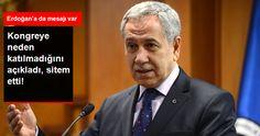 AK Parti Kongresine Katılmayan Arınç Sitem Etti: Yerimi İyi Tayin Edememişler | T.C. Devriye Haber