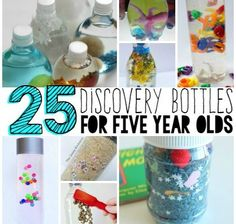 Discovery bottles are a great way for your five year old to learn while having fun. Learning doesn't have to be boring with these 25 Discovery Bottles for Five Year Olds. Help your child explore their world in a fun and memorable way. Learn everything from science to sight words all while playing. Enjoy! 25 …