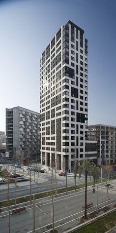NOVA DIAGONAL TOWER, Barcelona, 2007 - MSAA GROUP