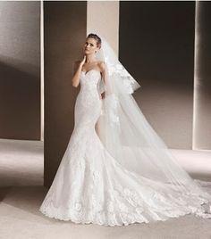 7026a2cda Bonaire Novias  vestidos de novia en Mallorca Velos Tipo Catedral