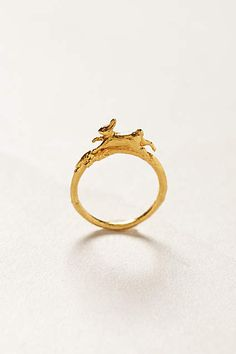 Leap Hare Ring - anthropologie.com